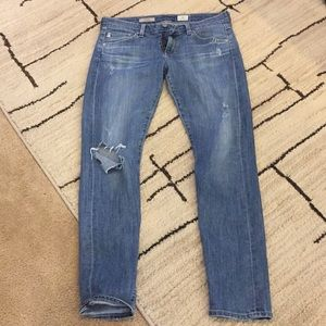 AG The Nolan distressed jeans